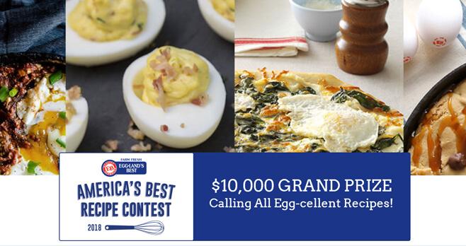 Eggland's Best America's Best Recipe Contest 2018