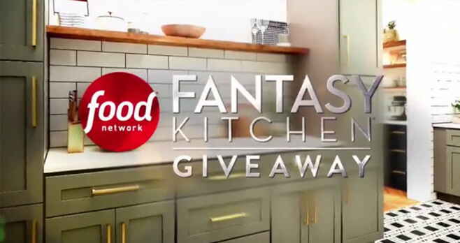 Etonnant Food Network Fantasy Kitchen Giveaway 2018