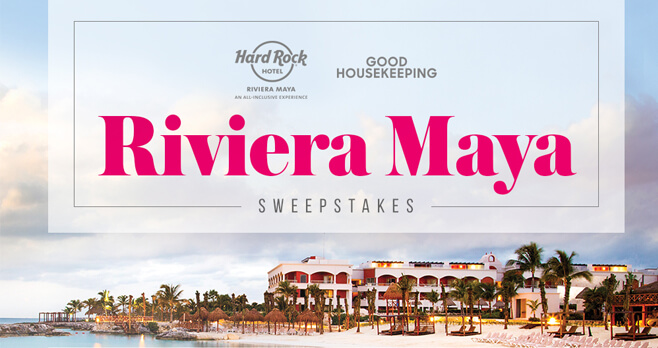 good housekeeping sweepstakes housekeeping rock hotel riviera getaway 12740