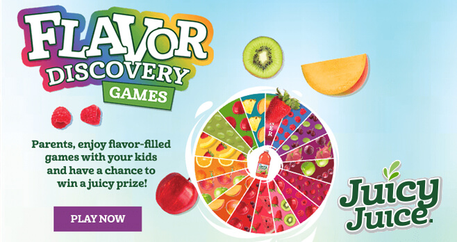 Juicy Juice Flavor Discovery Instant Win Game 2018
