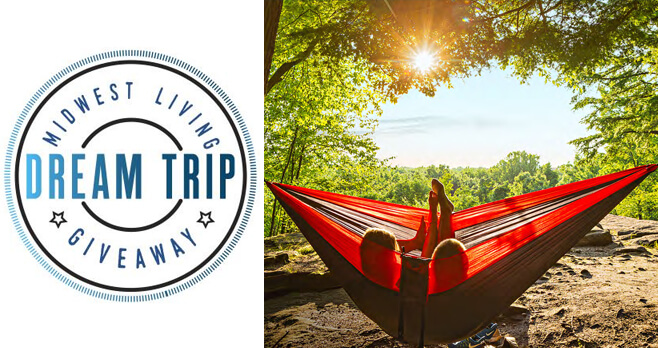 Midwest Living Dream Trip Sweepstakes 2018