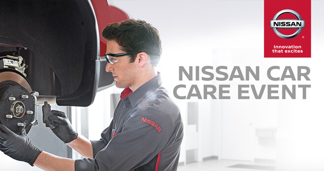 Nissan Car Care Event Sweepstakes 2018