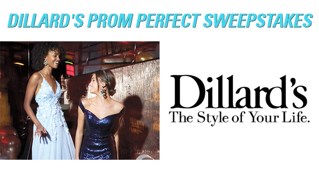 Seventeen Dillard's Prom Perfect Sweepstakes
