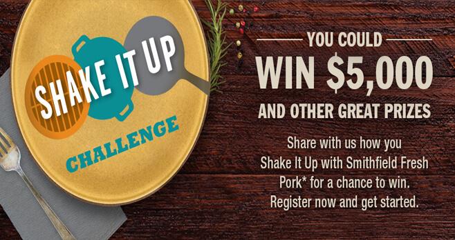Smithfield Shake It Up Challenge 2018