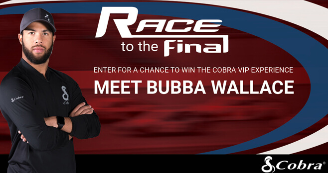 Cobra Race To The Final Sweepstakes (BubbaWinsWithCobra.com)