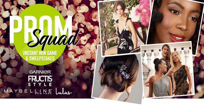 Garnier Prom Squad Sweepstakes 2018