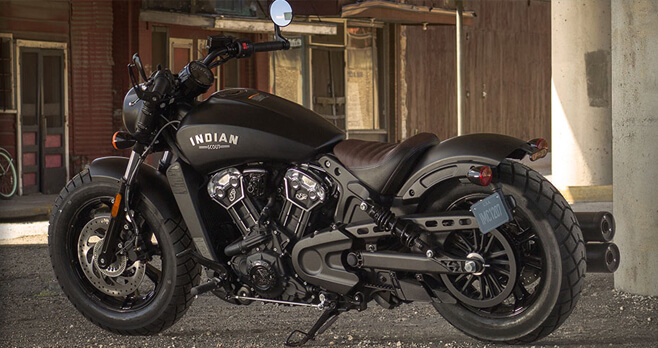 Indian Motorcycle Scout Bobber Sweepstakes 2018