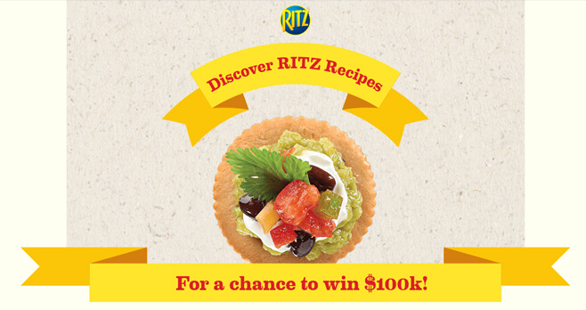Top Your RITZ Scan Sweepstakes 2018 (RITZscan.com)