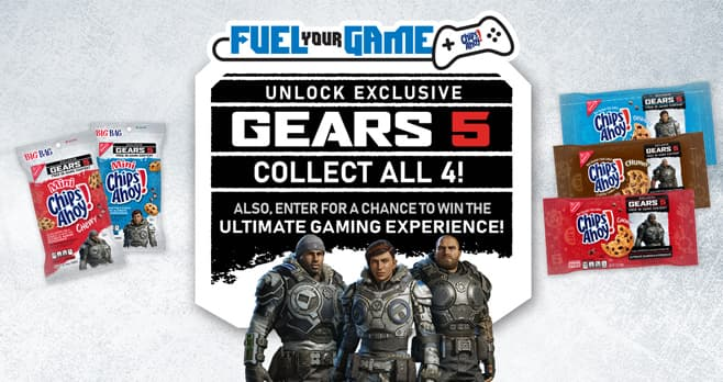 Chips Ahoy Xbox Fuel Your Game Sweepstakes (ChipsAhoyXbox.com)