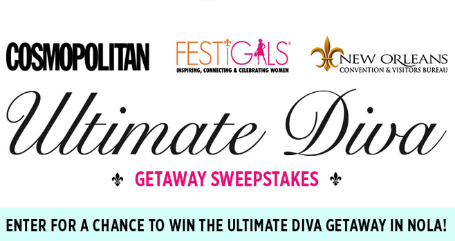 Cosmopolitan Diva Getaway Sweepstakes (DivaGetaway.Cosmopolitan.com)