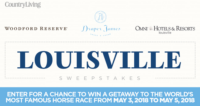 Country Living Louisville Sweepstakes