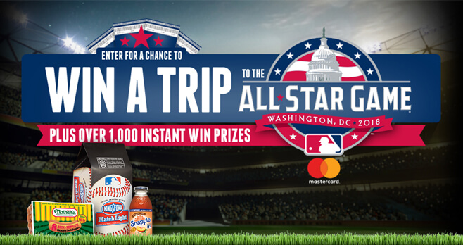 MLB All-Star Week Sweepstakes 2018