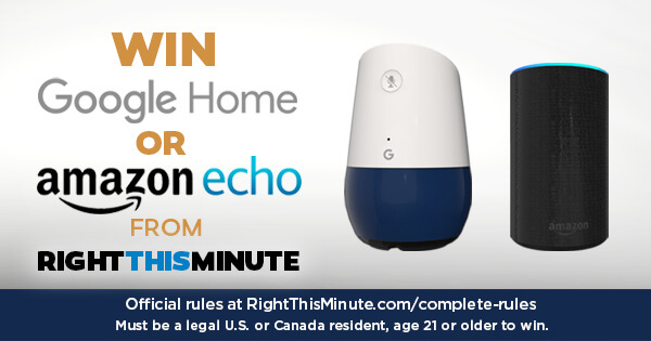 Right This Minute You Choose Sweepstakes