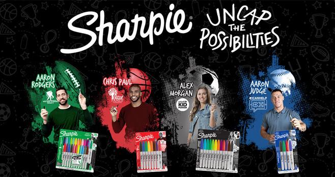 Sharpie Uncap The Possibilities Instant Win Game 2018 (UncapThePossibilities.com)