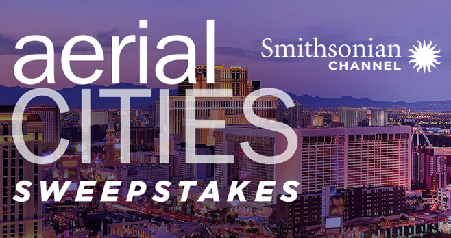 Smithsonian Channel Aerial America Sweepstakes 2018 (AerialSweeps.com)