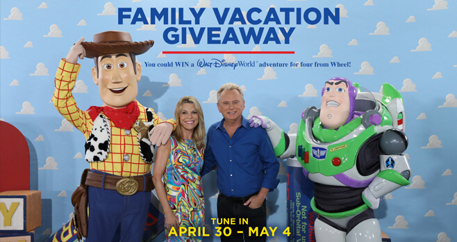 Wheel of Fortune Family Vacation Giveaway 2018
