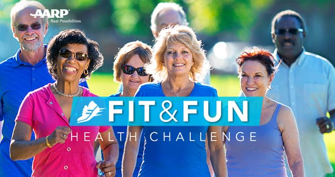 AARP Fit & Fun Health Challenge