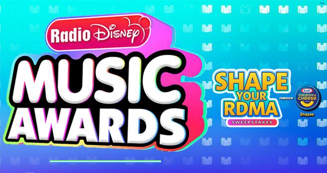 Disney Shape Your RDMA Sweepstakes (Disney.com/RDMA)