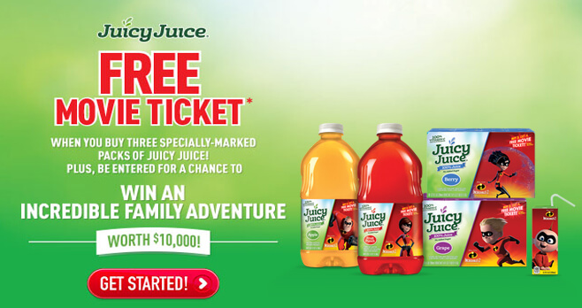 Juicy Juice Incredible Family Adventure Sweepstakes