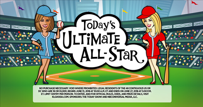 TODAY's Ultimate All-Star Contest