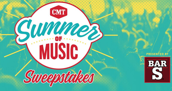 CMT Bar-S Summer Sweepstakes 2018