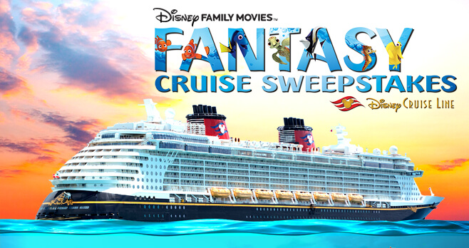 Disney Family Movies Fantasy Cruise Sweepstakes