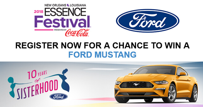 ESSENCE Win a Ford Sweepstakes