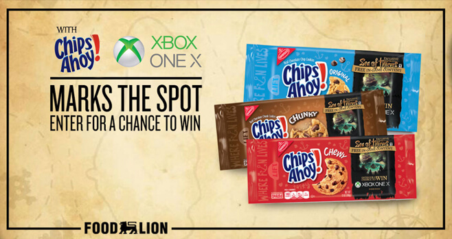 Food Lion CHIPS AHOY! Xbox Giveaway