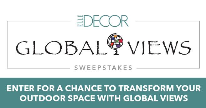 ELLE Decor Global Views Sweepstakes