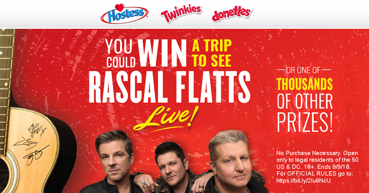 Hostess Sweet Country Summer Sweepstakes