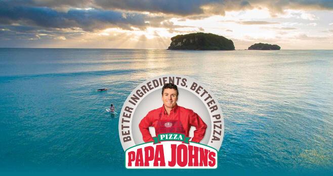 Papa John's Dreaming of Donuts Island Getaway Sweepstakes