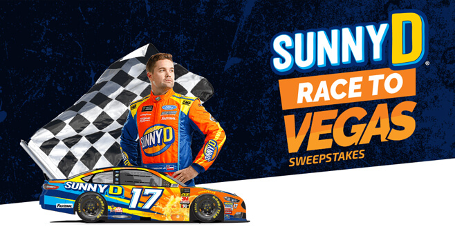 Sunny D Race to Vegas Sweepstakes