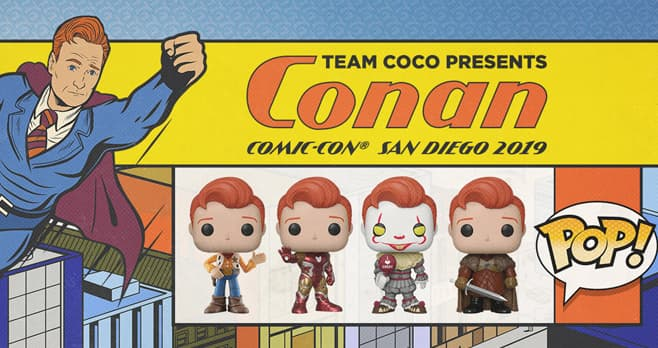 Conan Pop Figure Sweepstakes 2019