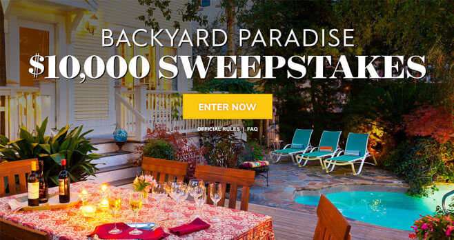 Better Homes & Gardens $10,000 Summer Sweepstakes