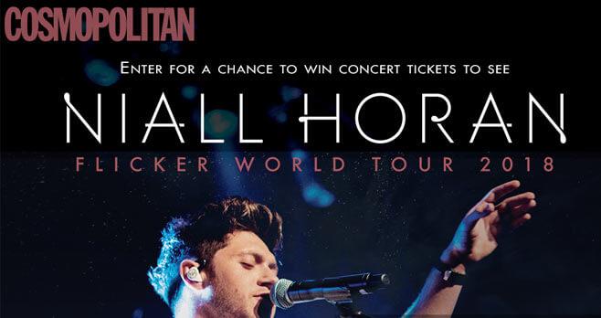 Cosmopolitan Flicker Tour Tickets Sweepstakes