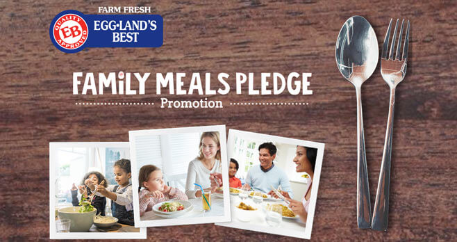 Eggland's Best Family Meals Pledge Promotion
