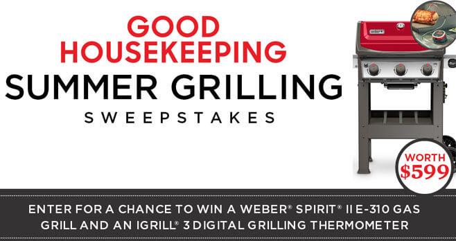 Good Housekeeping Summer Grilling Sweepstakes