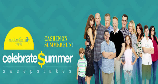 Modern Family Celebrate Summer Sweepstakes