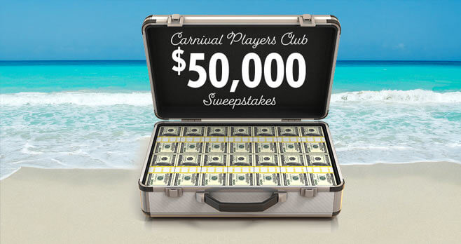 Carnival Cruise Players Club Sweepstakes - PlayersClubSweepstakes.com