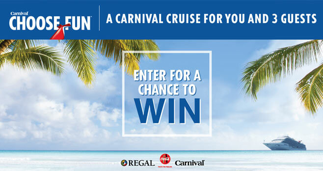Carnival Cruise Sweepstakes