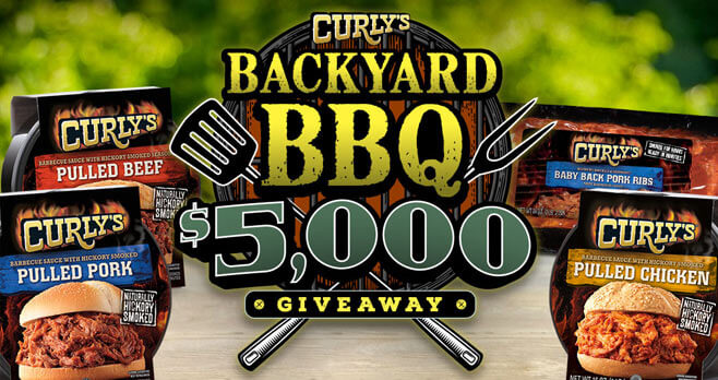 Curly's Backyard BBQ $5,000 Giveaway