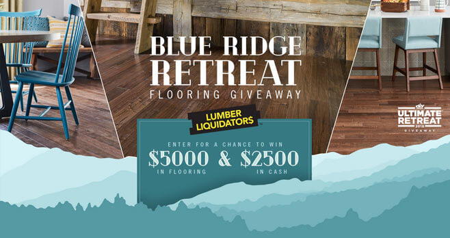 HGTV Blue Ridge Retreat Flooring Giveaway