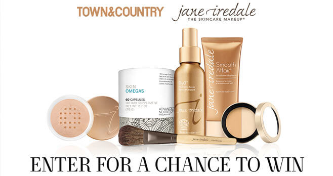 jane iredale Town & Country Sweepstakes