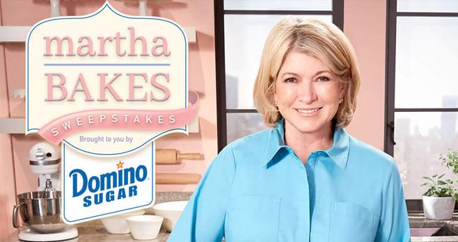 Martha Bakes Sweepstakes