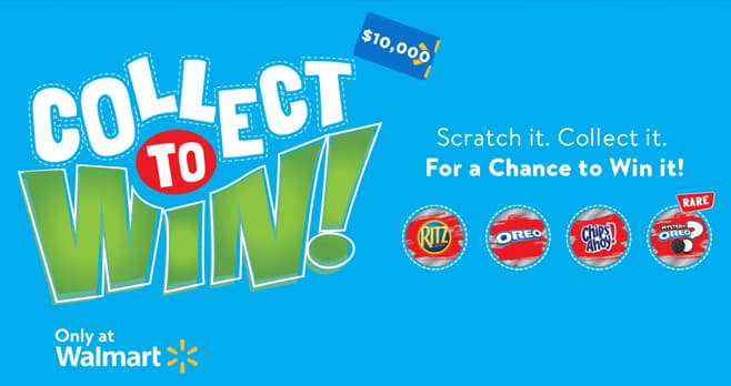 Walmart Collect To Win Game (CollectSnack.com)