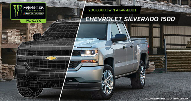 Monster Energy NASCAR Cup Series Playoffs Sweepstakes Presented by Chevrolet