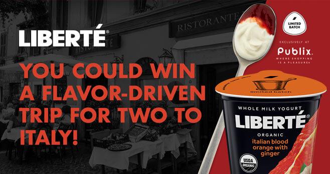 Liberté Taste of Italy Sweepstakes