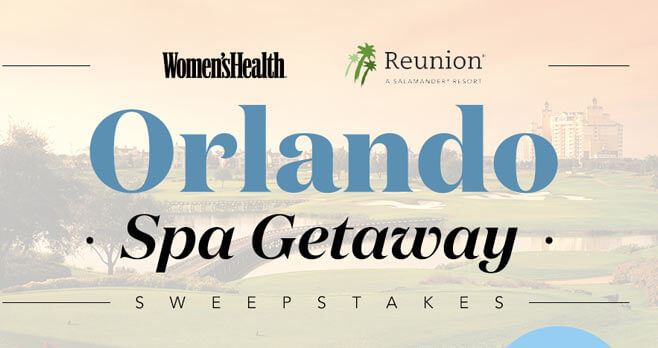 Women's Health Orlando Spa Getaway Sweepstakes