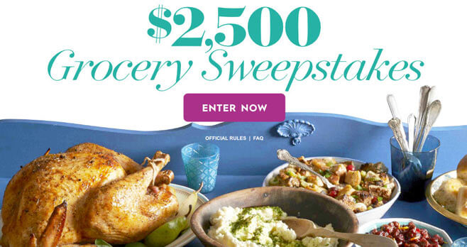 Better Homes And Gardens $2,500 Grocery Sweepstakes