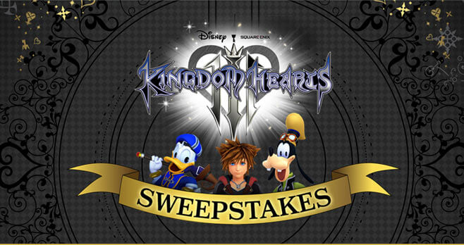 GameStop PowerUp Rewards Kingdom Hearts III Sweepstakes